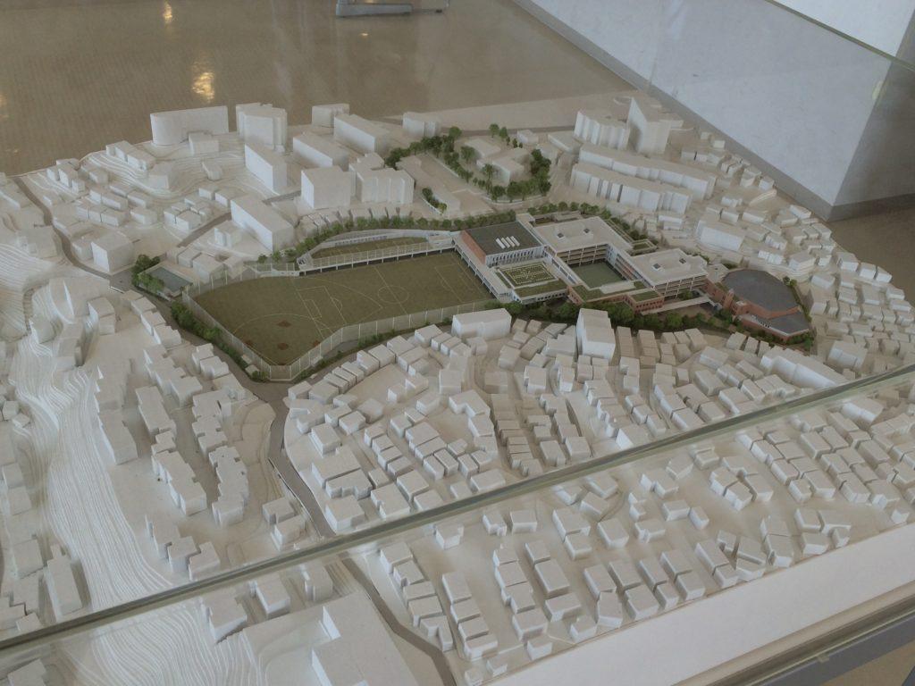 聖光学院の模型