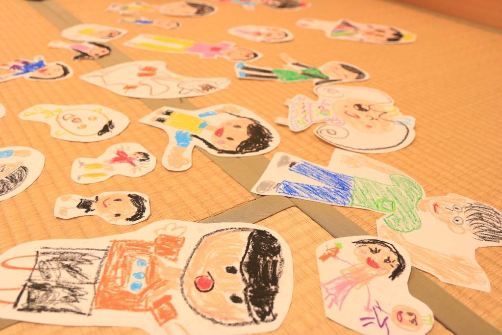 子どもたちが書いた絵