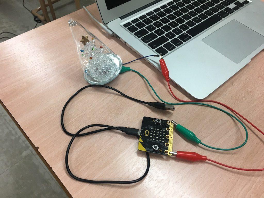 micro:bit x クリスマスツリー